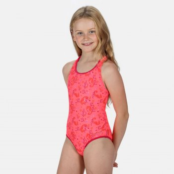 Tanvi Badeanzug für Kinder Orange