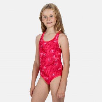 Tanvi Badeanzug für Kinder Rosa