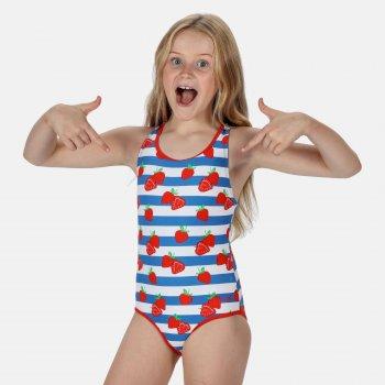 Tanvi Badeanzug für Kinder Rot
