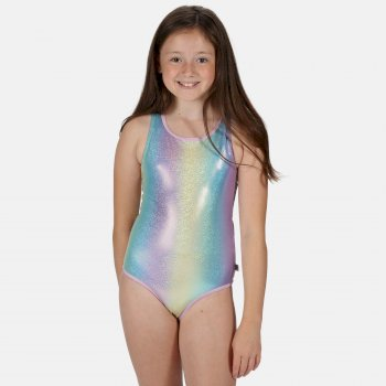 Tanvi Badeanzug für Kinder Mehrfarbig