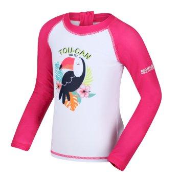 Regatta Kids' Valo Rash Suit - Duchess