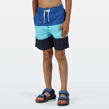 Shaul III Schwimmshorts für Kinder Blau