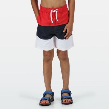 Shaul III Schwimmshorts für Kinder Rot