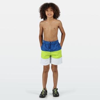 Shaul III Schwimmshorts für Kinder Grün
