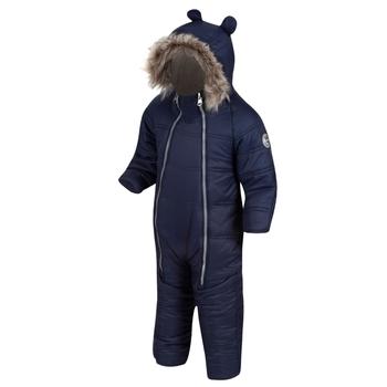 Panya isolierter Schneeanzug für Kinder Blau