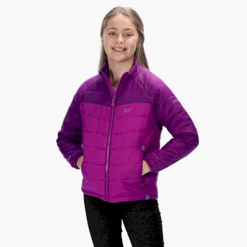 Freezeway - Kinder Steppjacke Vivid Viola Winberry