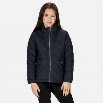 Regatta Kids' Zalenka Quilted Insulated Jacket - Navy