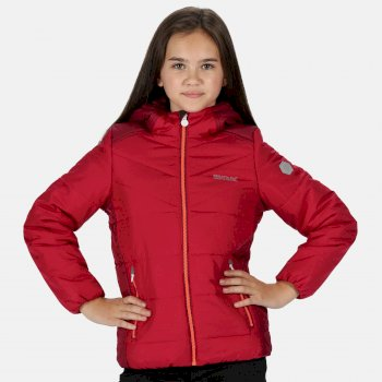 Lofthouse IV isolierte, robuste Walkingjacke mit Kapuze für Kinder Rosa