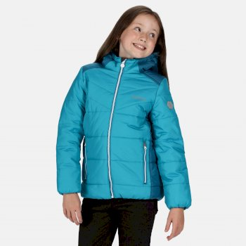 Lofthouse IV isolierte, robuste Walkingjacke mit Kapuze für Kinder Blau