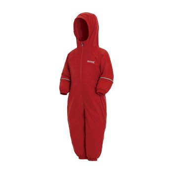 Regatta Kids' Splosh III Breathable Waterproof Puddle Suit - Pepper