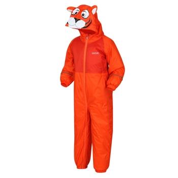 Mudplay III atmungsaktiver, wasserdichter Matschanzug für Kinder Orange