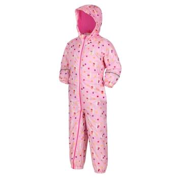 Splat II bedruckter Matschanzug für Kinder Lila