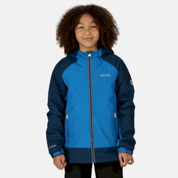 Regatta Kids' Hurdle III Waterproof Insulated Jacket - Imperial Blue Deep Space