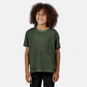 Regatta Kids' Ayan T-Shirt - Racing Green
