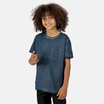 Regatta Kids' Ayan T-Shirt - Dark Denim