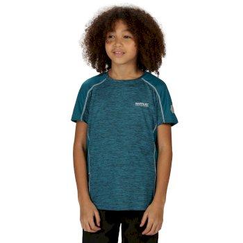 Takson II Active T-Shirt für Kinder Blau