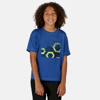 Alvarado V Graphic T-Shirt für Kinder Blau
