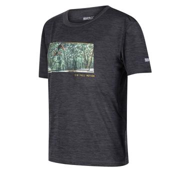 Alvarado V Graphic T-Shirt für Kinder Grau