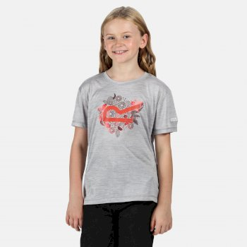 Alvarado V Graphic T-Shirt für Kinder Grau
