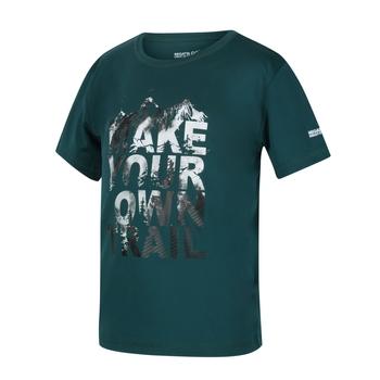 Alvarado V Graphic T-Shirt für Kinder Blau
