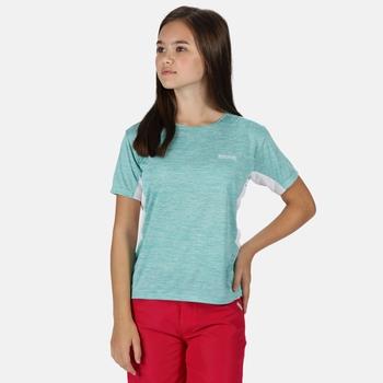 Takson III Meliertes, Active T-Shirt für Kinder Blau