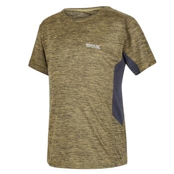 Takson III Meliertes, Active T-Shirt für Kinder Gelb