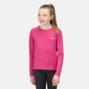 Samley Langarmshirt für Kinder Rosa
