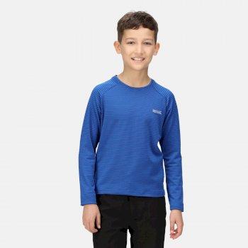 Samley Langarmshirt für Kinder Blau