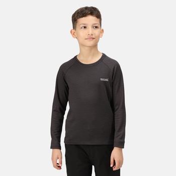 Samley Langarmshirt für Kinder Grau