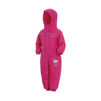 Regatta Kids' Puddle IV Breathable Waterproof Puddle Suit - Jem