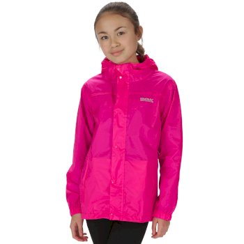 Regatta Kids Pack It Jacket II Lightweight Breathable Waterproof Packaway Jem