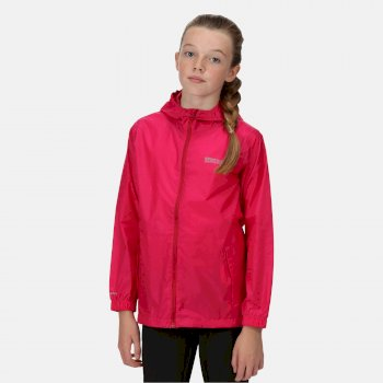 Regatta Kids' Pack It Jacket III Waterproof Packaway - Cabaret
