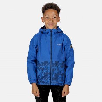 Haskel wasserdichte Jacke für Kinder Blau