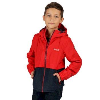 Haskel wasserdichte Jacke für Kinder Rot