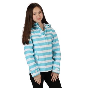 Bibiana wasserdichte Jacke für Kinder Blau