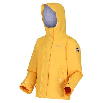 Bibiana wasserdichte Jacke für Kinder Gelb