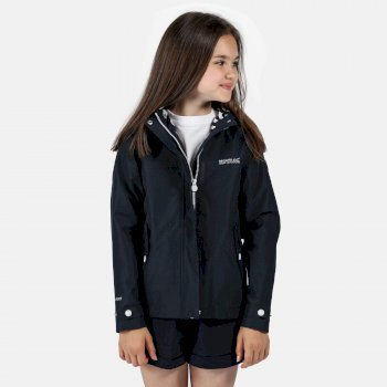 Regatta Kids' Bibiana Waterproof Jacket - Navy