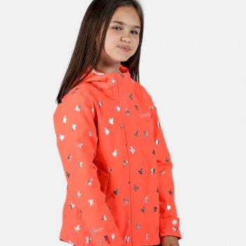 Bibiana wasserdichte Jacke für Kinder Orange
