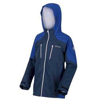 Calderdale wasserdichte Jacke für Kinder Blau
