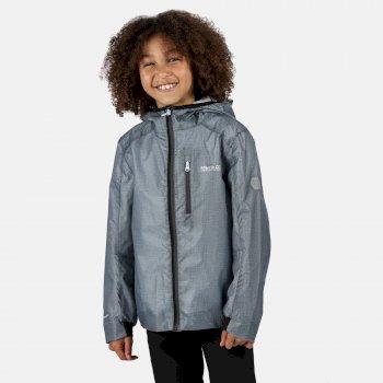 Hydroid leichte, wasserdichte Jacke für Kinder Grau