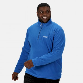 Regatta Men's Thompson Lightweight Half Zip Fleece - Oxford Blue Navy