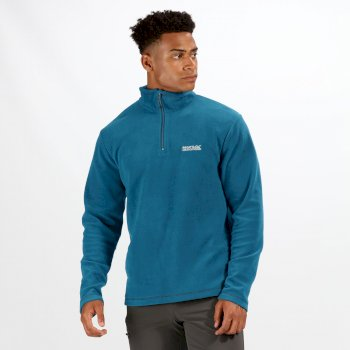 Regatta Men's Thompson Lightweight Half-Zip Fleece Sea Blue
