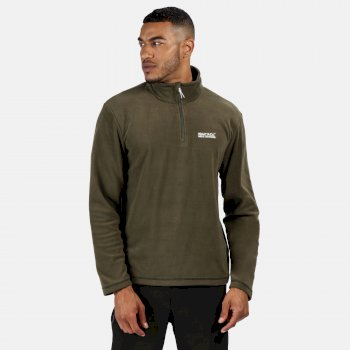 Regatta Men's Thompson Lightweight Half-Zip Fleece Grape Leaf