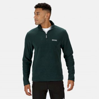Regatta Men's Thompson Lightweight Half Zip Fleece - Deep Pine