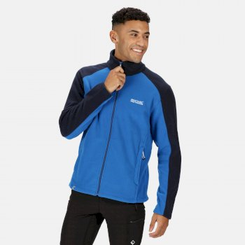 Regatta Men's Hedman II Heavyweight Full Zip Fleece - Oxford Blue Navy