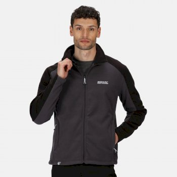 Regatta Hedman II Heavyweight Full-Zip Fleece Iron Black