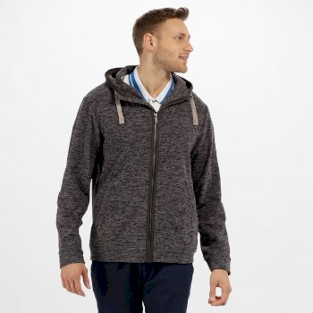 Regatta Laikin Hooded Full Zip Fleece Ash