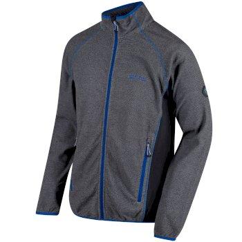 Men's Mons III Mid Weight Full Zip Fleece Light Steel Seal Grey