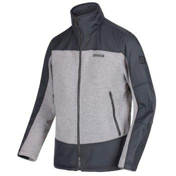 Regatta Zorian Full Zip Fleece - Rock Grey Seal Grey