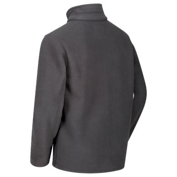 Regatta Garrian Full Zip Fleece Seal Grey Black